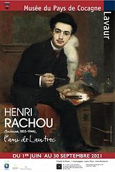 Affiche exposition Henri Rachou musée du Pays de Cocagne