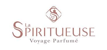 Logo La Spiritueuse voyage parfumé bougie cognac