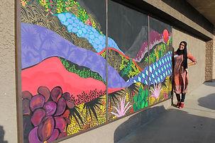Joshua Tree, California - mural