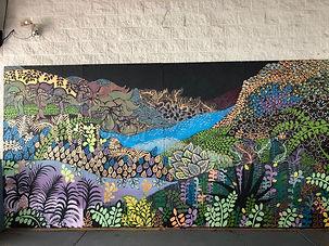 """The Great Beyond"" Tampa, Florida - mural"