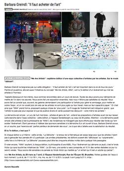 Article La Libre BelgiqueD6BC9322-9DA5-4A44-8507-5836872D208C