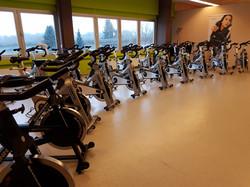 Indoor-Cycling Area