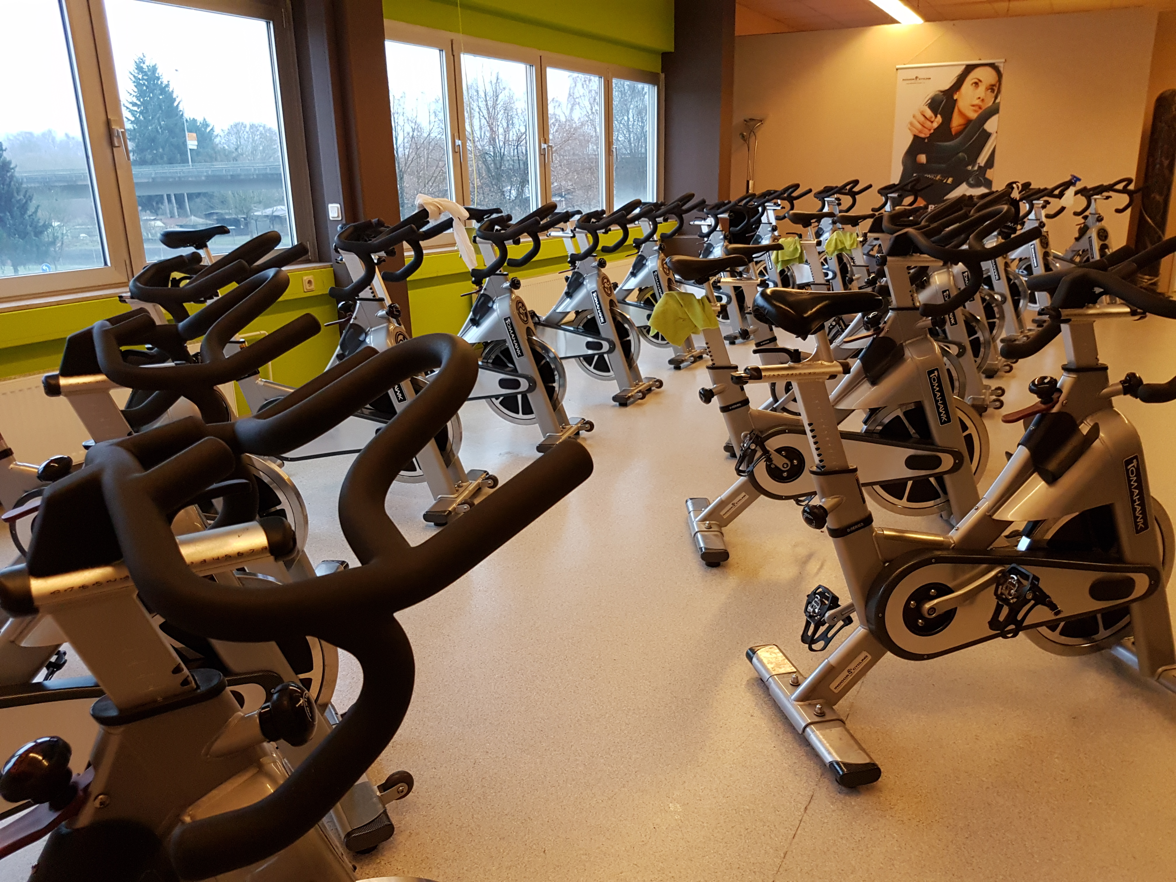 Indoor-Cycling Area