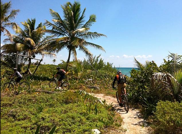 Mayan mtn. biking