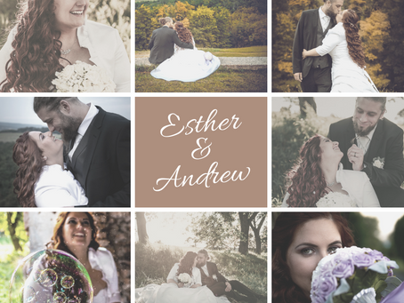 Esther & Andrew's wedding