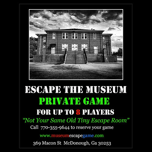 Private Escape Game for 8 Players