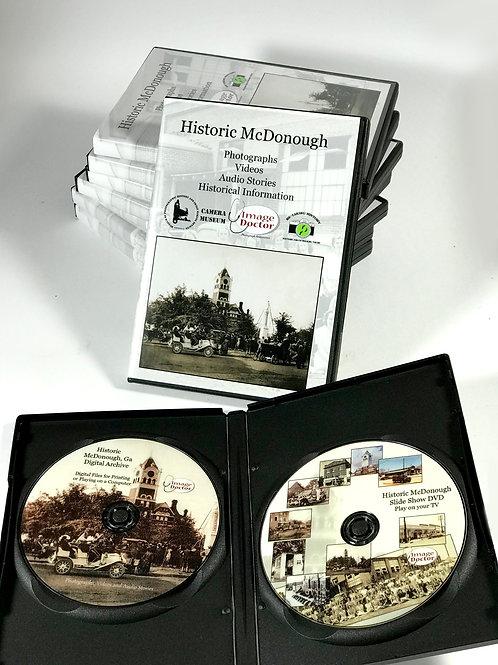 Historic McDonough DVD Set