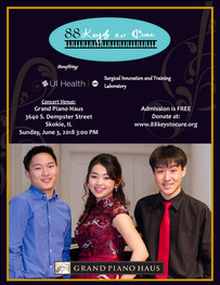 Benefit Concert at Grand Piano Haus