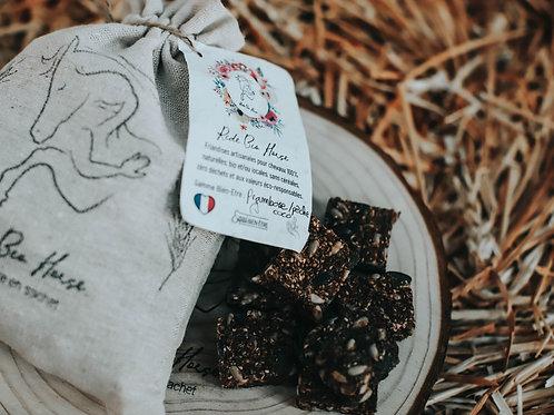 Friandises framboise/pêche/coco