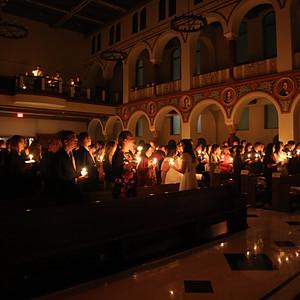Easter Vigil St. Pauls 2018