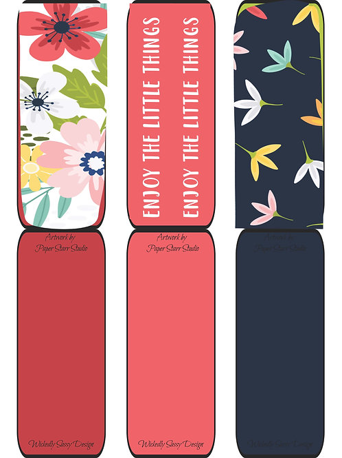 Flower Bookmarks #4