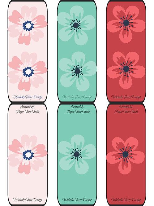 Flower Bookmark #1