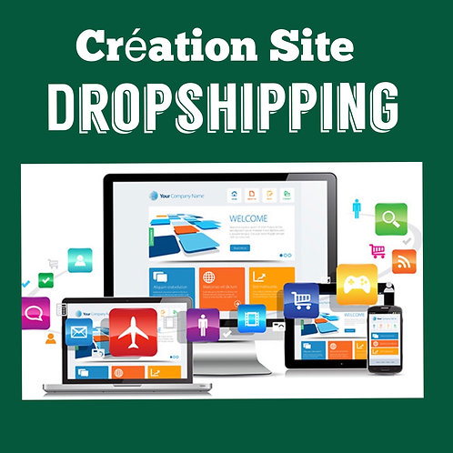 Création Site DropShipping