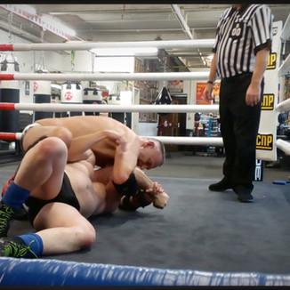 Robbie Neill v Pitbull Warrior (John Crabtree ref)