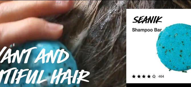 Best beauty swap of the year - Lush Seanik shampoo bar