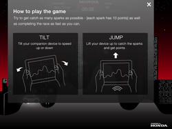 Honda iPad Game