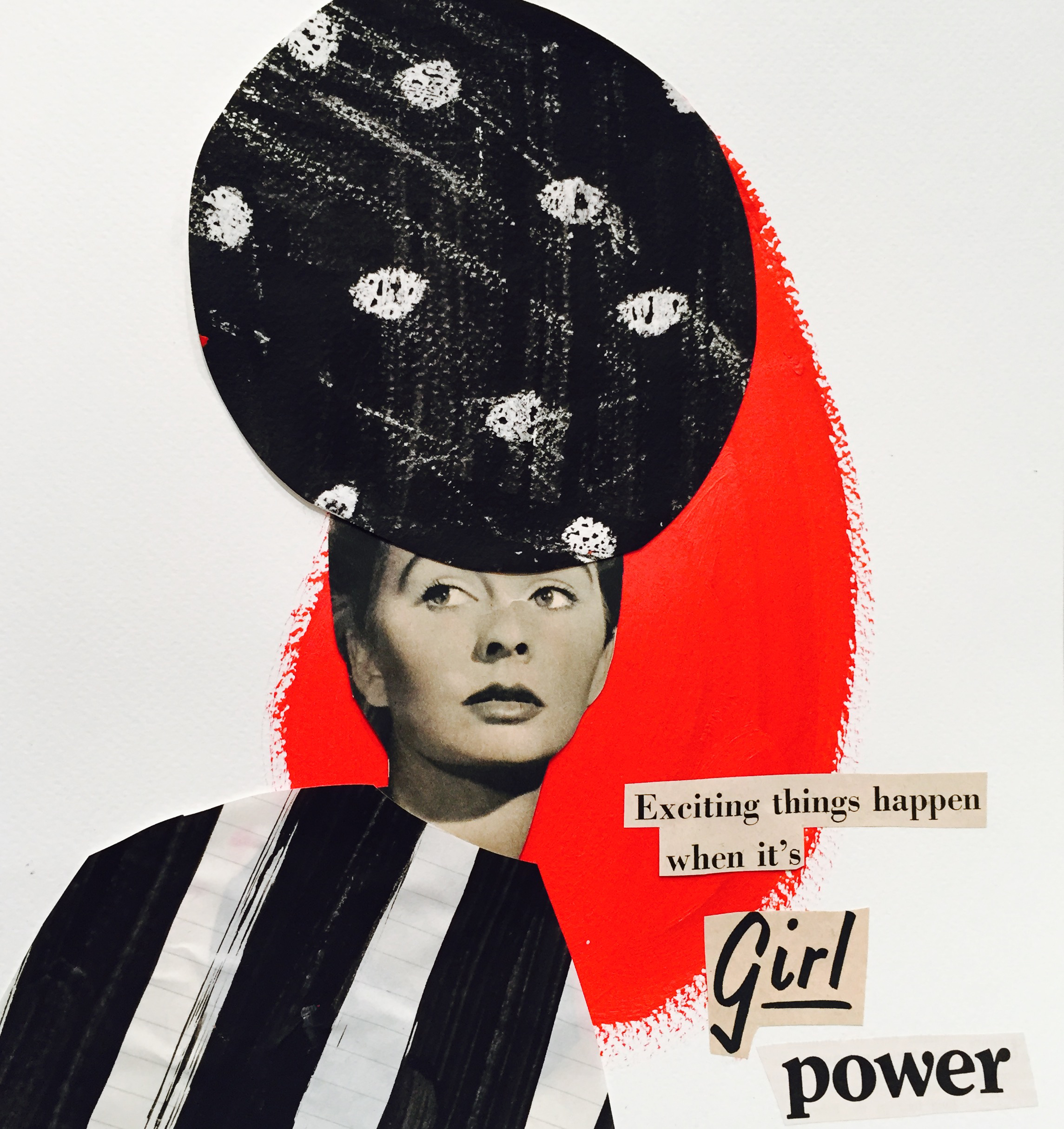 """Girl Power"" Collage 2016"