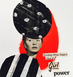 """""""Girl Power"""" Collage 2016"""