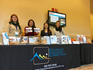 Colorado Language Connection at the COVA conference!