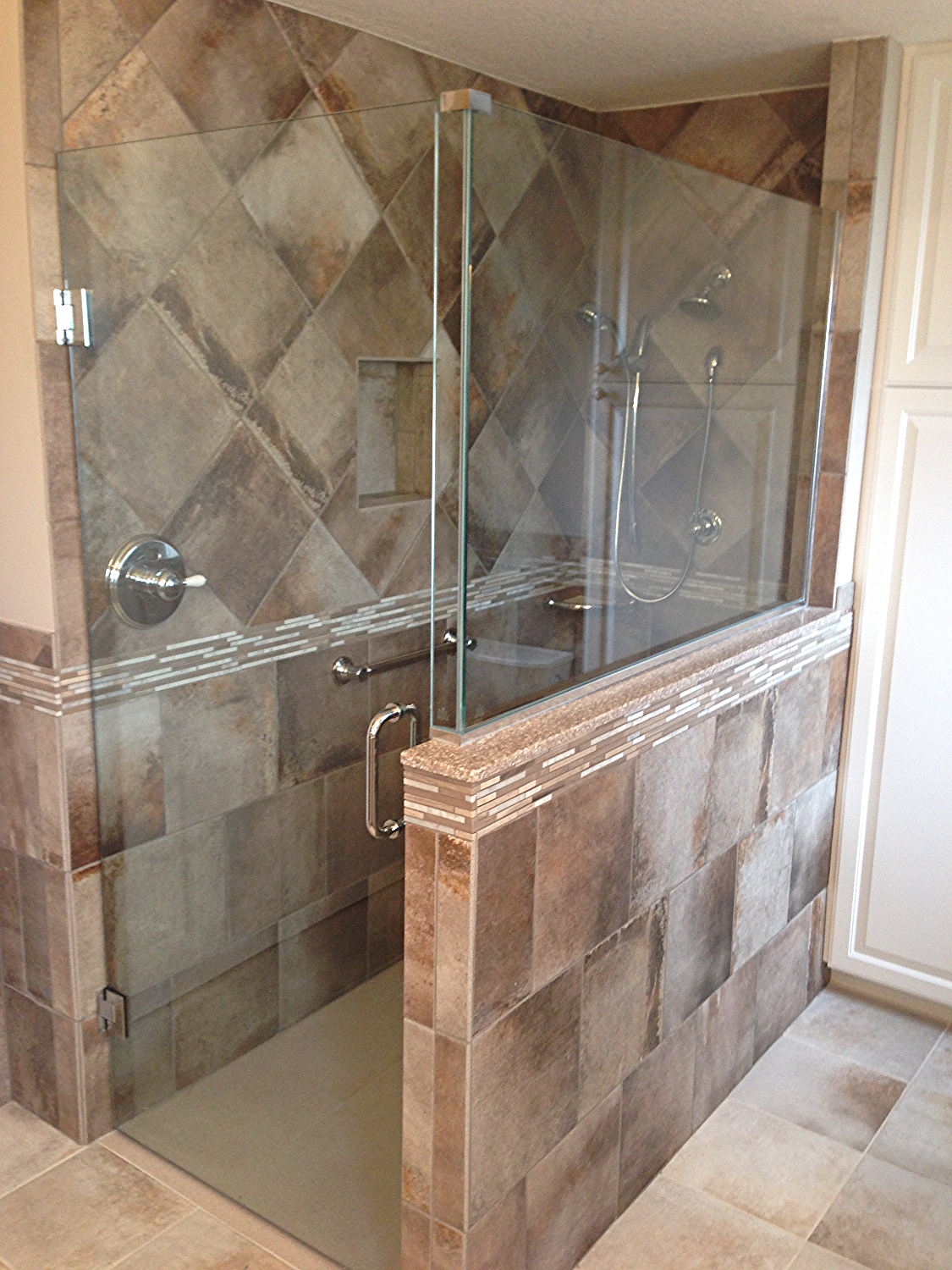 Master Walk-In Shower