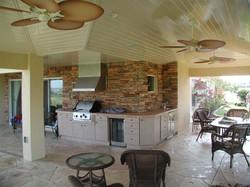 Summer Kitchen with Stone