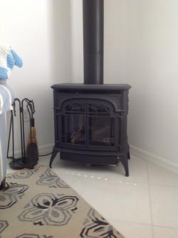 Iron Gas Fireplace