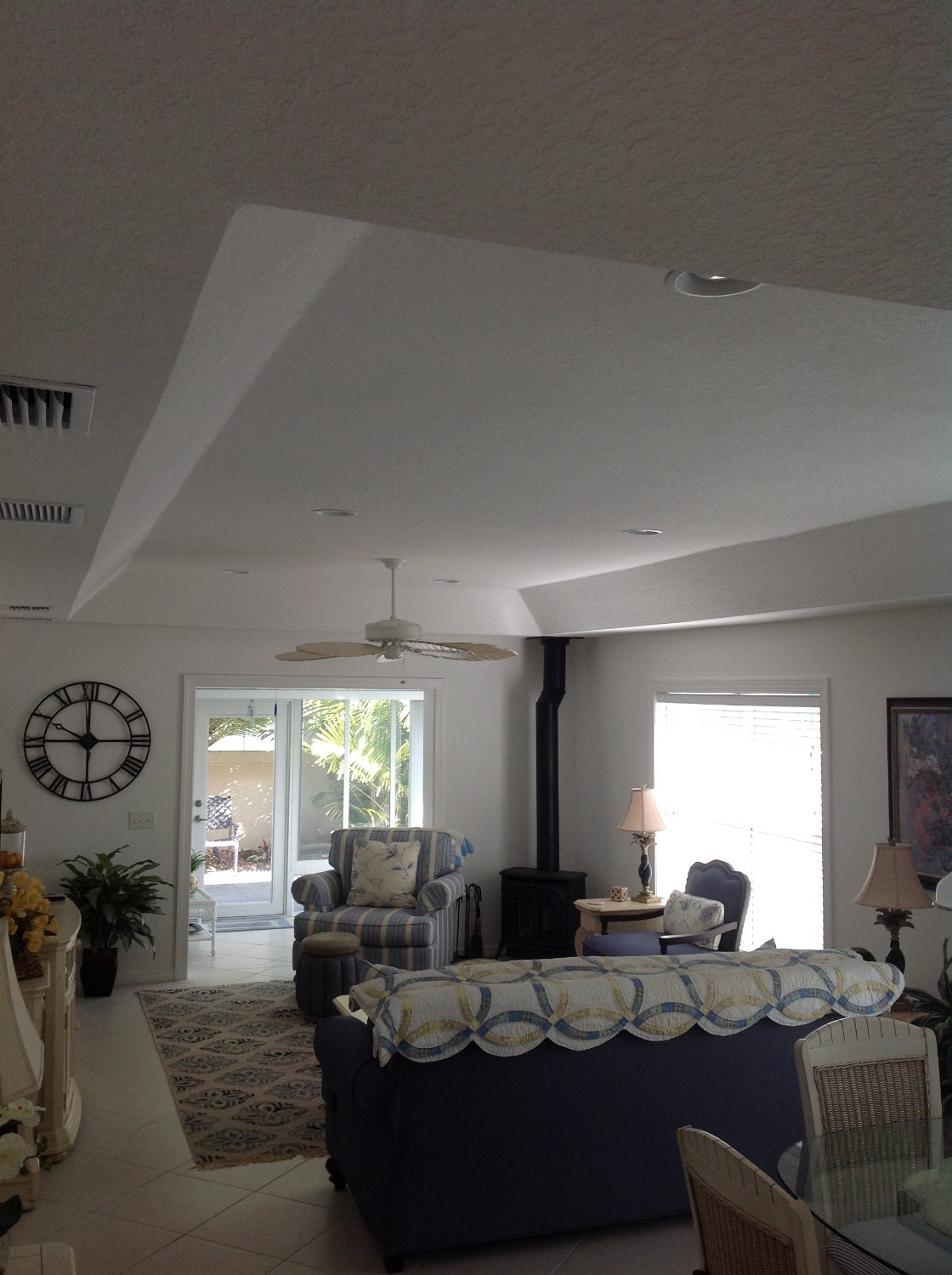 Tray Ceiling Conversion