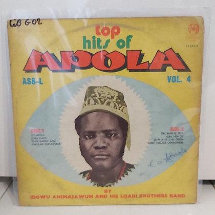 Idowu Animasawun & His Lisabi Brothers Band - Top Hits Of Apola Vol 4
