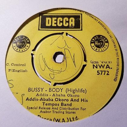 Addis-Ababa Okoro & His Tempos Band - Ota-Myanede [Decca]