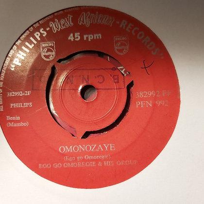 Ego Go Omoregie & His Group - Omonozaye [Philips]