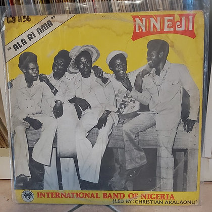 Nneji International Band Of Nigeria – Ala Ri Nma [Afrodisia]