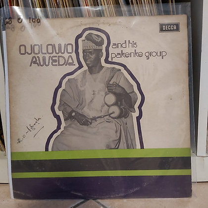 Ojolowo Aweda& His Pakenke Group [Decca]