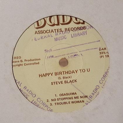 Steve Black – Happy Birthday To 'U' [Dudu]