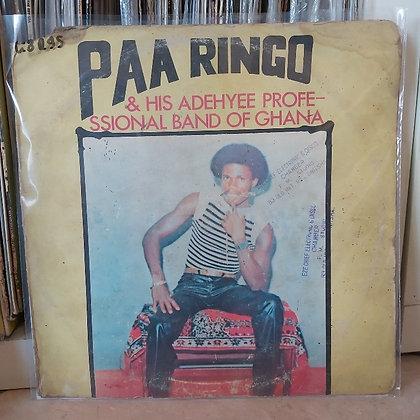 Paa Ringo & His Adehyee Professional Band Of Ghana – Nana Amma Special