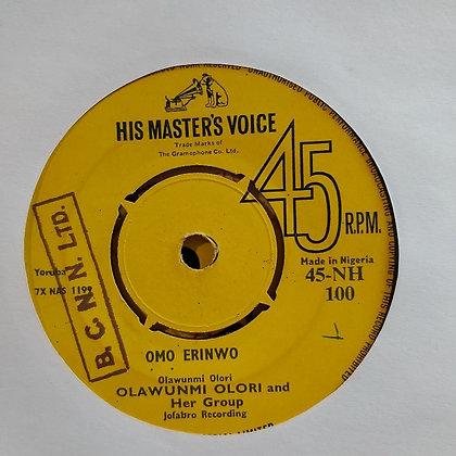 Olawunmi Olori & Her Group - Omo Erinwo [HMV - Jofabro]