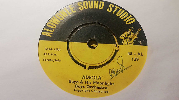 Bayo & His Moonlight Boys Orchestra - Adeola [Alowonle Sound Studio]