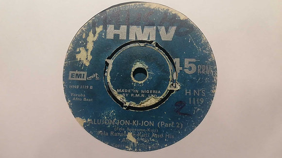 Fela Ransome-Kuti And His Africa '70 – Alujon-Jon-Ki-Jon [HMV]