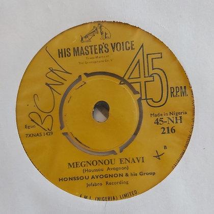 Honssou Avognon & His Group - Megnonou Enavi [HMV - Jofabro]