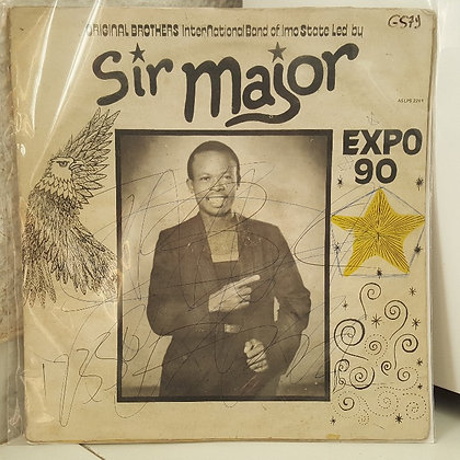 Original brothers International Band Of Imo State - Sir major - Expo90