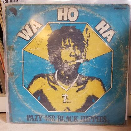 Pazy And The Black Hippies – Wa Ho Ha [EMI]
