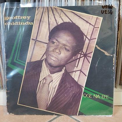 Geoffrey Chidindu - Oge Na Efe [Paddy Funk]