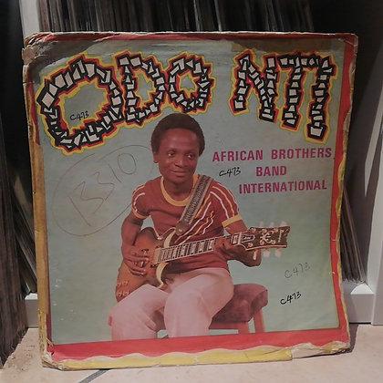 African Brothers International Band – Odo Nti [Happy Bird] Blue Wax