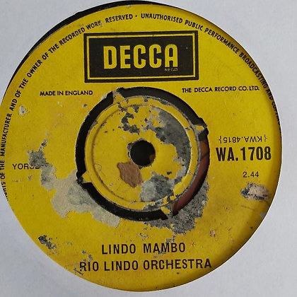 Rio Lindo Orchestra - Lindo Mambo [Decca]