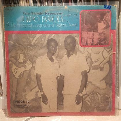 "Dapo Fashola & His Amamah Int. Brothers Band - The ""Conga Exponent"" [Mowojue]"