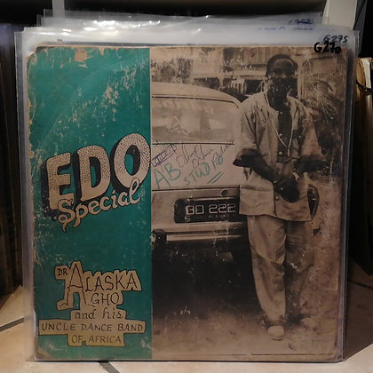 Dr. Alaska Agho And His Uncle Dance Band Of Africa – Edo Special [Matts]