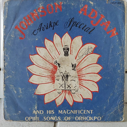 Johnson O. Adjan And His Magnificent Opiri Songs Of Orhokpo