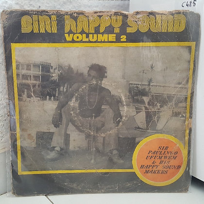 Sir Paulingo Ufumwen & His Happy Sound Makers ‎– Bini Happy Sound Volume 2