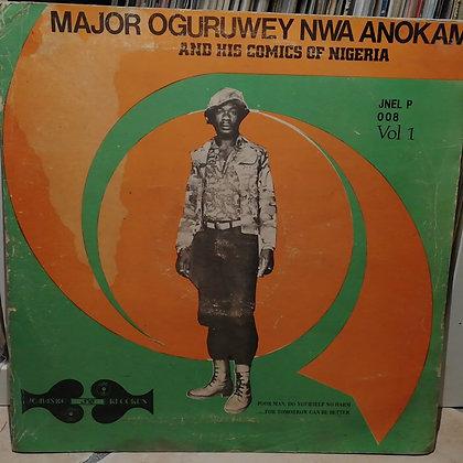 Major Oguruwey Nwa Anokam And His Comics Of Nigeria – Vol. 1 [Jomasko]