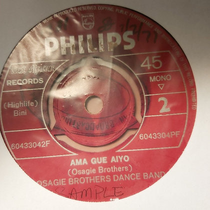 Osagie Brothers Dance Band - Ni Gha Ma [Philips]