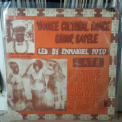 Yankee Cultural Dance Group Sapele led by Emmanuel Poto